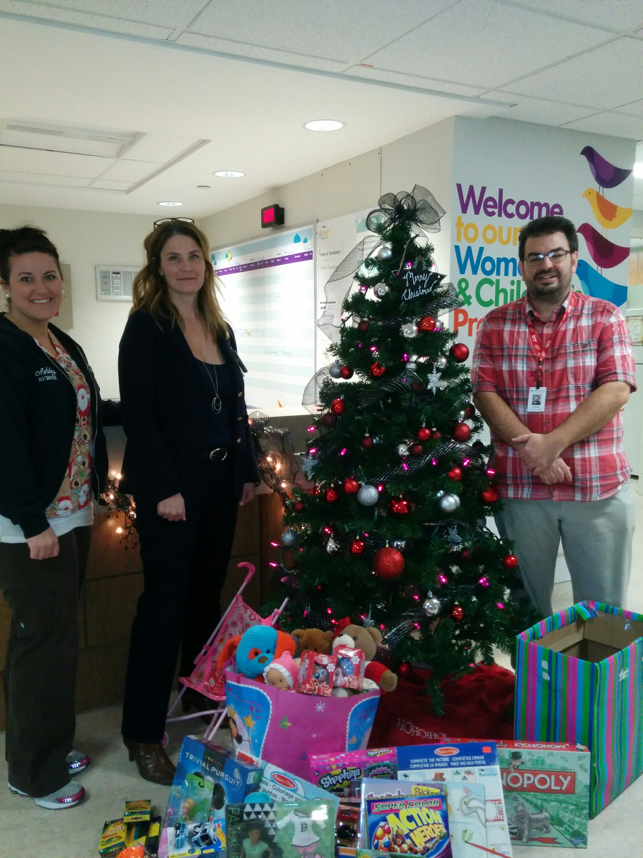 Toys for Tots, Thanks to Tilbury Team